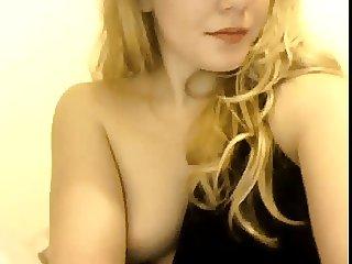 Hot Blond Swedish Plays Pussy