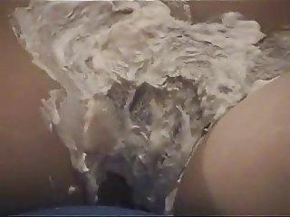 Shaving makes her horny