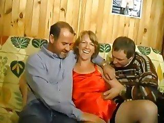 French bi amateur threesome MMF