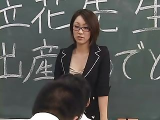 Lactating Japanese teacher spits on student s face