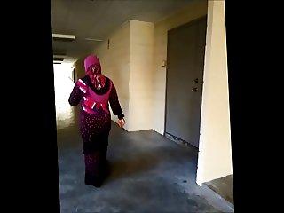 Hot malay tudung hijab big ass milf