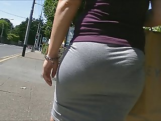Bubble butt in tight skirt edited.