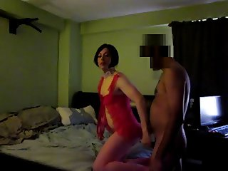 Latin Crossdresser gets fucked good by Latino