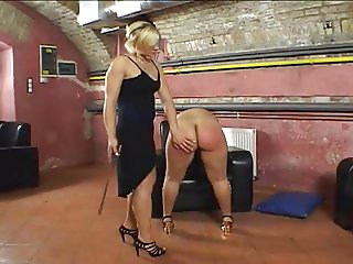 Her Big Round Juicy Ass Gets Spanked