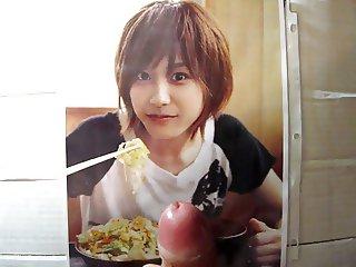 Ai Takahashi Cum Tribute Morning Musume Bukkake 5