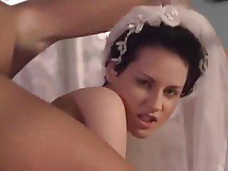 bride foursome sex anal dp