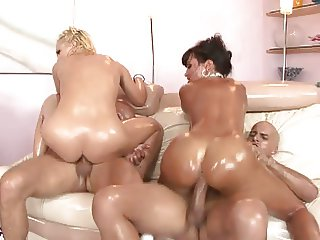 Hot ass orgy