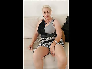 A gorgeous 60yo granny