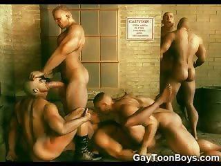 3D Army Boys and Fantasy Gays
