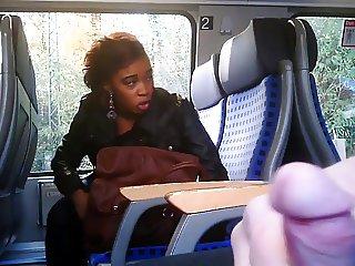 Flashing a hot black girl Flostylez