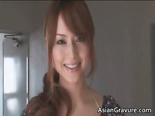 Sexy cute face asian hot body babe part4