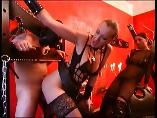 Mistress uses a guy for her pleasure
