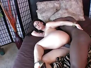 Luscious Lopez Fucking with a big black juicy cock
