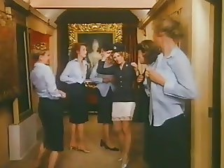 lovely ladies wearing slips skirts