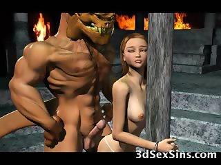 Demons Bang 3D Babes