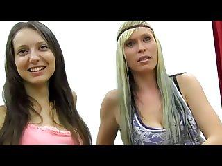 Two Women Gangbanged
