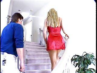 Hottie butt banged in the kitchen