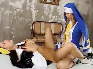 GuiltyGear Bridget and Dizzy cospley sex