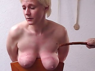 strict spanking tits