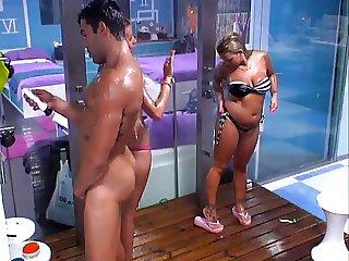 CFNM shower Portugal