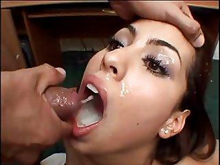 MOUTHS OF CUM Jackie Diaz