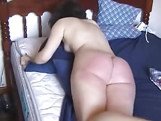 whipping in the bed.