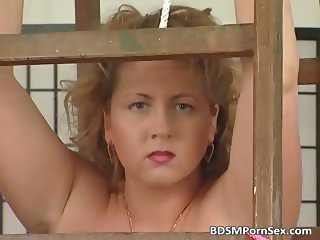 Chubby busty blonde bets those big boobs part6