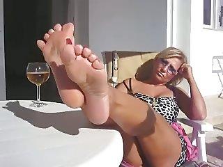Lady B Hottest Mature Feet 1
