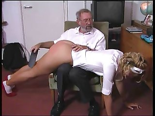 Britt slut spanked