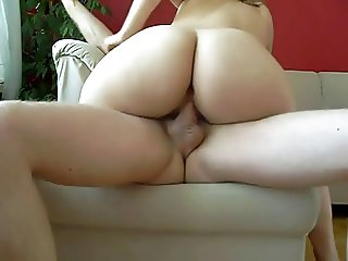 Horny Amateur Busty Milf Loves Hard Homemade Anal Fuck