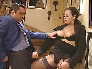 Olivia Del Rio Handjob for Old Nerd