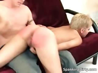 Hot and sexy blonde bitch gets ass part6