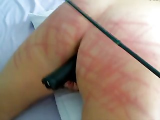 Light caning...